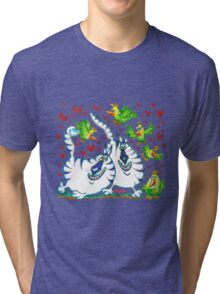 Lovebirds Tri-blend T-Shirt