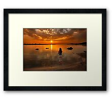 Keep on dreaming on Framed Print