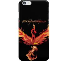 Fire burns within us iPhone Case/Skin