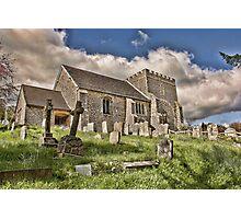 St Nicholas Bramber Photographic Print