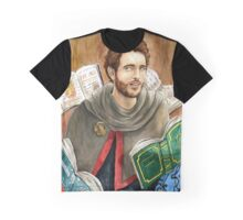 Doran-Doran the Fire Mage Watercolor Painting Graphic T-Shirt