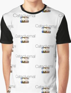 Cataclysmal United Subscribers Fan Branding Graphic T-Shirt