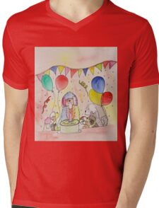 Happy Birthday Mens V-Neck T-Shirt