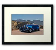 1934 Ford Roadster  Framed Print