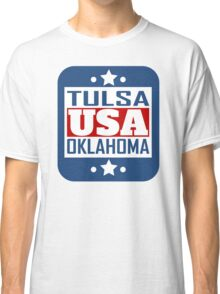 Tulsa Oklahoma USA Classic T-Shirt