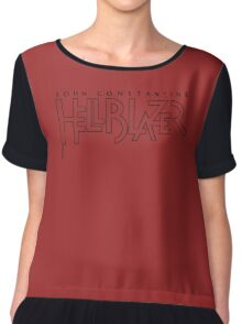 Hellblazer Logo - Black Chiffon Top