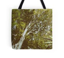 Green Tree Foliage In Summer Tote Bag