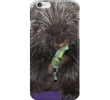 Hungry Porcupine  iPhone Case/Skin