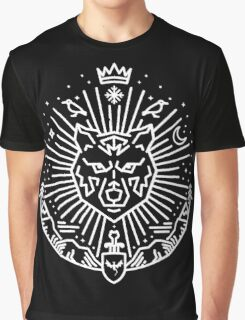 Jon Snow - The White Wolf Graphic T-Shirt