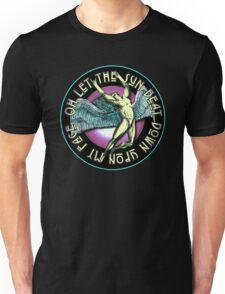 ICARUS THROWS THE HORNS - violet kashmir Unisex T-Shirt