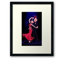 Phinbella- Swing Swing Framed Print