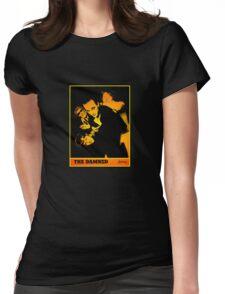 The Damned - Machine Gun Etiquette Flyer Womens Fitted T-Shirt