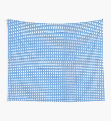 Blue Knit Wall Tapestry