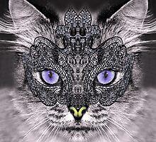 carnaval cat by zanimo142