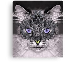 carnaval cat Canvas Print