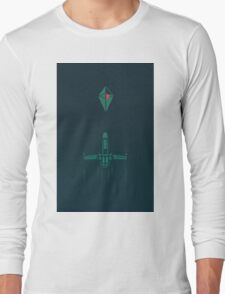 Minimalist No Mans Sky Long Sleeve T-Shirt