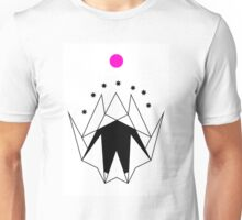 Geometric Mountains With Black 7 Unisex T-Shirt