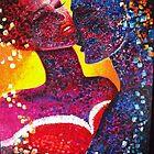 """Moment  like this"" 48x60 inc/121cm-152 cm (1,800$) by Marina Terkulova -Tesch"