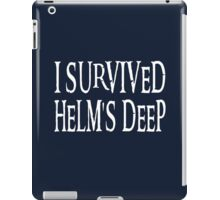 I Survived Helm's Deep iPad Case/Skin