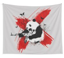 Panda love style Wall Tapestry