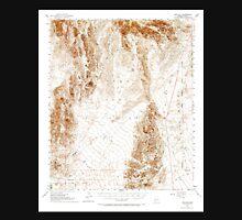 USGS TOPO Map Arizona AZ Red Hill 314954 1954 62500 Unisex T-Shirt