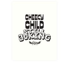 Cheeky Child Art Print
