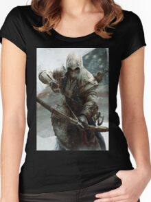 assassin creed  Women's Fitted Scoop T-Shirt