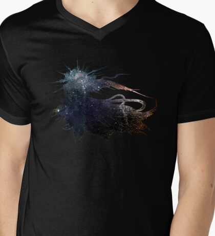 Final Fantasy XV logo universe Mens V-Neck T-Shirt