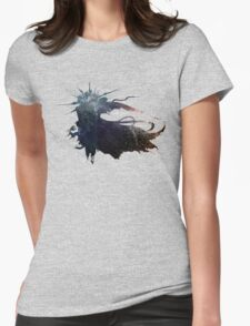 Final Fantasy XV logo universe Womens Fitted T-Shirt