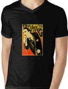 Dave Vanian - The Damned Tour Poster Mens V-Neck T-Shirt