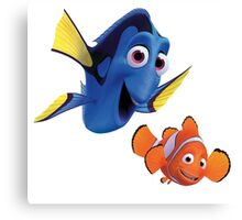 Findng Dory 10 Canvas Print