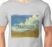 Mountain, clouds, sky: limitless Unisex T-Shirt