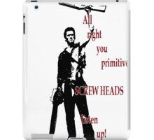 Army of Darkness- Screw Heads iPad Case/Skin