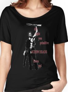Army of Darkness- Screw Heads Women's Relaxed Fit T-Shirt