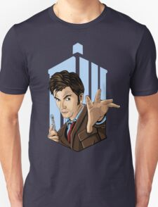 Doctor Who: Tenth Doctor  Unisex T-Shirt