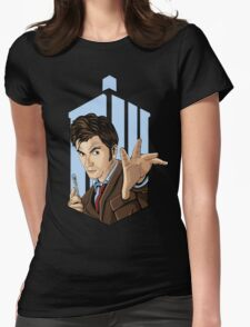Doctor Who: Tenth Doctor  Womens Fitted T-Shirt