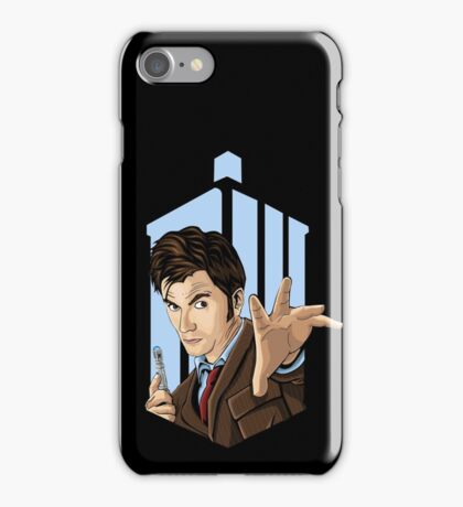 Doctor Who: Tenth Doctor  iPhone Case/Skin