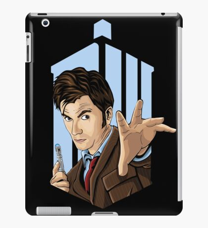 Doctor Who: Tenth Doctor  iPad Case/Skin