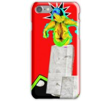 Sculpture On Red iPhone Case/Skin