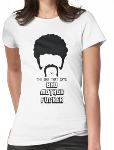 Pulp Fiction - Bad Mother Fucker Womens Fitted T-Shirt