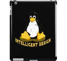 Linux Penguin Intelligent Design iPad Case/Skin
