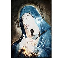 Mother Mary Comes to Me Photographic Print