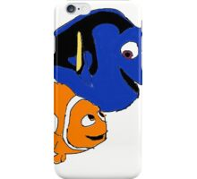 Nemo and Dory  iPhone Case/Skin