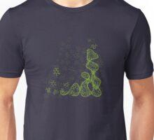 tRNA (transfer RNA) structure - bright green Unisex T-Shirt