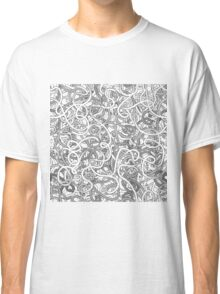 Intricate tangled doodles Classic T-Shirt
