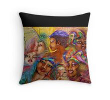 Filly Gumbo Throw Pillow