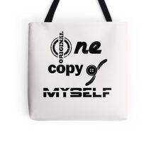 One original copy of myself*b* Tote Bag