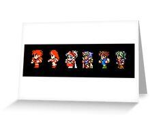 Final Fantasy: Evolution Greeting Card