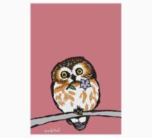 Flower Owl Kids Tee