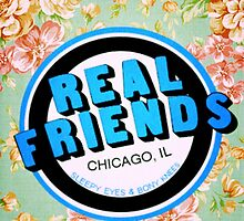 Floral Real Friends Logo  by kyliemayham